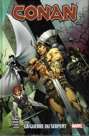 Couverture de l'album Conan - La guerre du Serpent (One-shot)