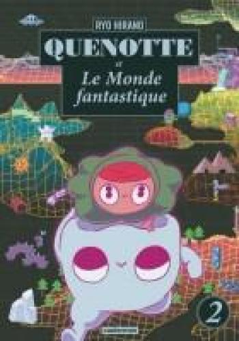 Couverture de l'album Quenotte et le monde fantastique - 2. tome 2