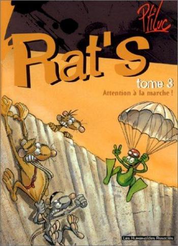 Couverture de l'album Rat'S - 3. Attention à la marche !
