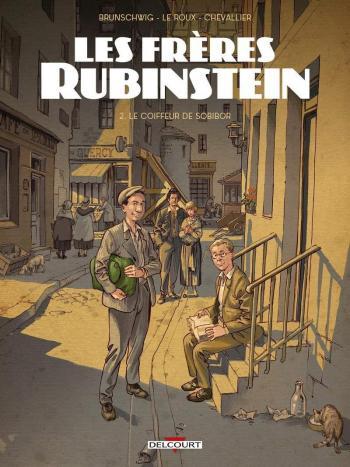 Couverture de l'album Les frères Rubinstein - 2. Le Coiffeur de Sobibor