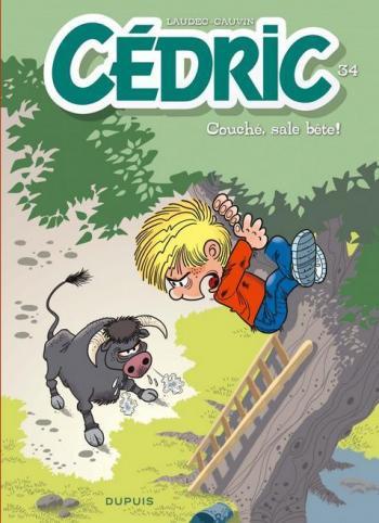 Couverture de l'album Cédric - 34. Couché, sale bête !