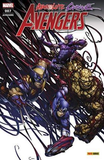 Couverture de l'album Avengers (V7, Fascicules) - 7. Carnage absolu