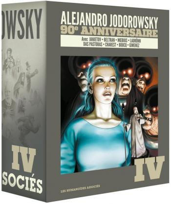 Couverture de l'album Alejandro Jodorowsky 90e anniversaire - COF. Coffret Volume 4