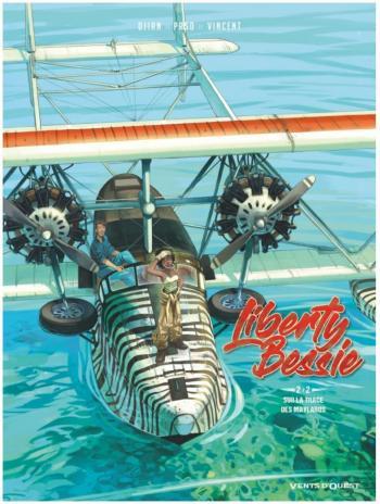 Couverture de l'album Liberty Bessie - 2. Sur la trace des Maylaros