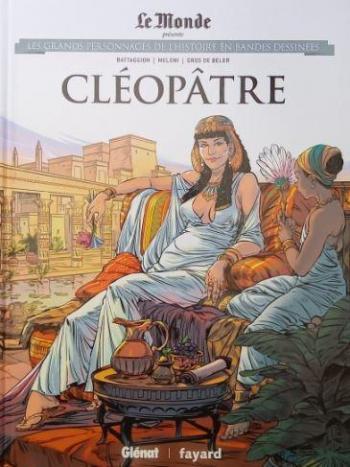 Couverture de l'album Les Grands Personnages de l'Histoire en BD - 42. Cléopâtre