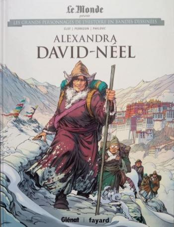 Couverture de l'album Les Grands Personnages de l'Histoire en BD - 43. Alexandra David-Néel