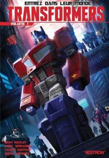 Couverture de l'album Vestron - 33. Transformers volume 1