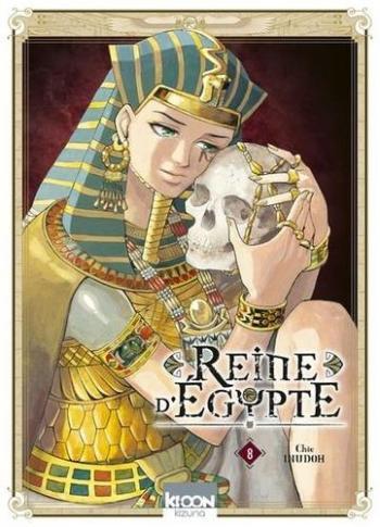Couverture de l'album Reine d'Egypte - 8. Le faucon du crépuscule