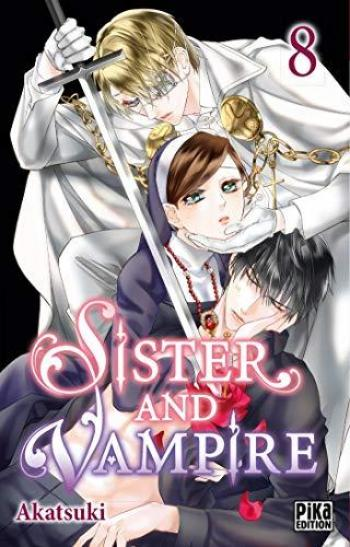 Couverture de l'album Sister and Vampire - 8. tome 8