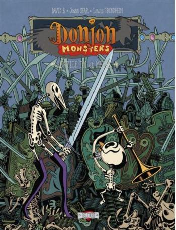 Couverture de l'album Donjon Monsters - 13. Réveille-toi et meurs