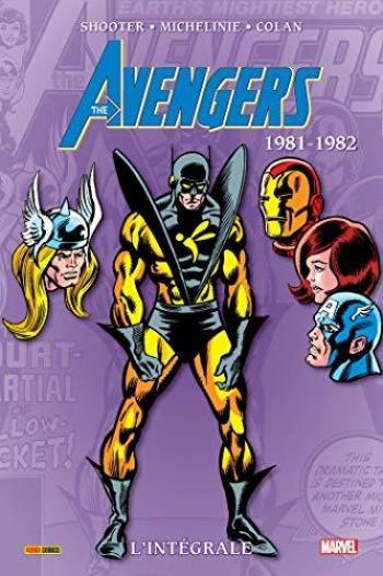 Couverture de l'album The Avengers - L'Intégrale - INT. (1981-82)