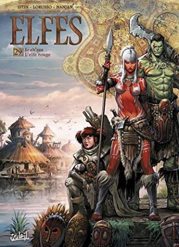 Couverture de l'album Elfes - 29. Leah'saa l'elfe rouge
