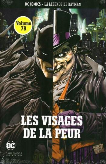 Couverture de l'album DC Comics - La légende de Batman - 58. Les visages de la peur