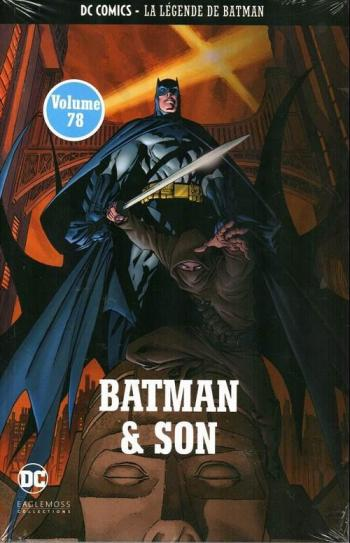 Couverture de l'album DC Comics - La légende de Batman - 40. Batman et son