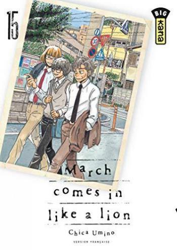 Couverture de l'album March Comes in Like a Lion - 15. tome 15