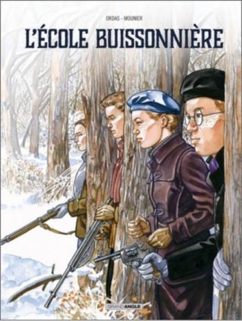 Couverture de l'album L'école buissonnière (Ordas-Mounier) (One-shot)