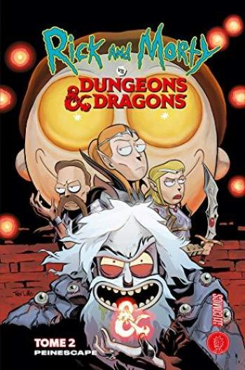 Couverture de l'album Rick & Morty VS. Dungeons & Dragons - 2. Peinescape
