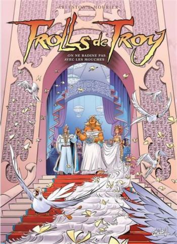 Couverture de l'album Trolls de Troy - 25. On ne badine pas avec les mouches