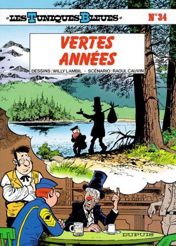 Couverture de l'album Les Tuniques bleues - 34. Vertes Années