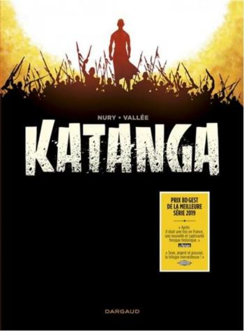 Couverture de l'album Katanga - COF. Coffret 3 Volumes
