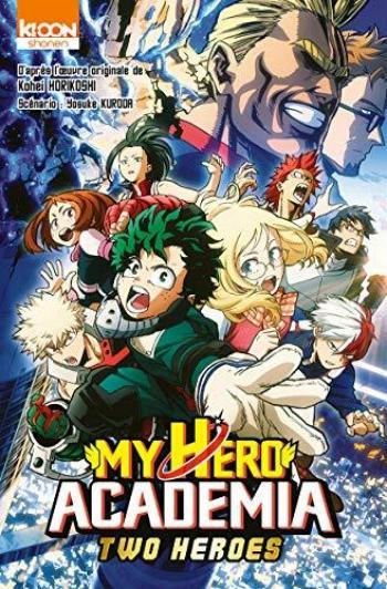 Couverture de l'album My Hero Academia - HS. Two Heroes (Anime Comic)