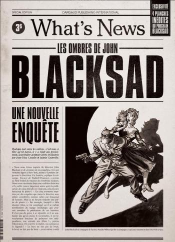 Couverture de l'album Blacksad - HS. What's News