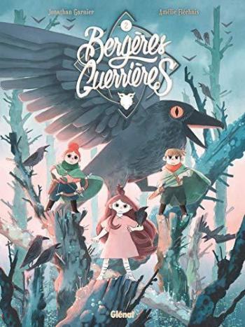 Couverture de l'album Bergères guerrières - 2. La Menace