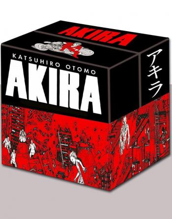 Couverture de l'album Akira (Noir et blanc) - COF. Coffret Intégrale