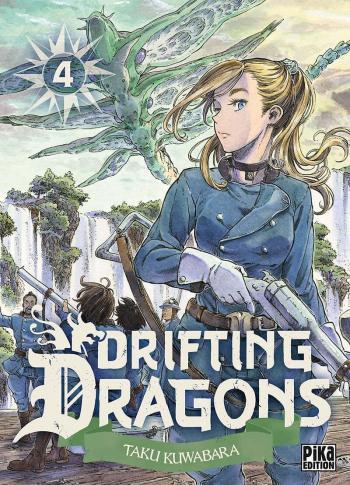 Couverture de l'album Drifting Dragons - 4. tome 4