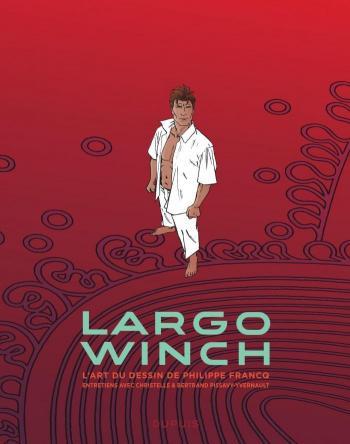 Couverture de l'album Largo Winch - HS. L'art du dessin de Philippe Francq