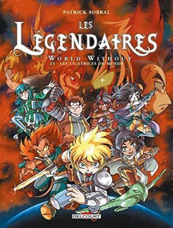 Couverture de l'album Les Légendaires - 23. Les cicatrices du monde