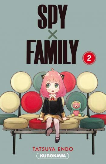 Couverture de l'album Spy x Family - 2. Tome 2