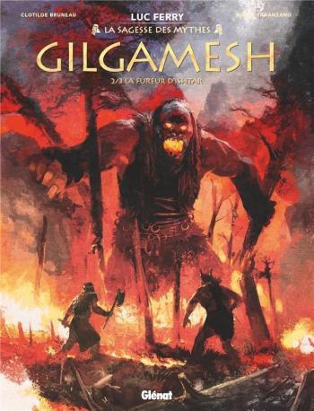 Couverture de l'album Gilgamesh (Glénat) - 2. La Fureur d'Ishtar