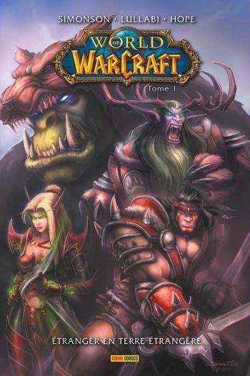 Couverture de l'album World of Warcraft (Panini) - 1. Étranger en terre étrangère