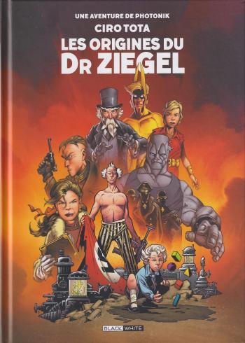 Couverture de l'album Photonik (Black and White) - HS. Les origines du Dr Ziegel
