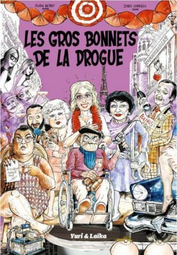 Couverture de l'album Les gros bonnets de la drogue (One-shot)