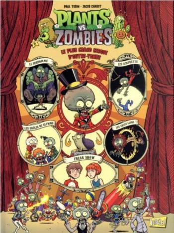 Couverture de l'album Plants vs. Zombies - 9. Le plus grand cirque d'outre-tombe