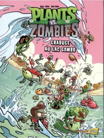 Couverture de l'album Plants vs. Zombies - 10. Grabuge au lac Gombo