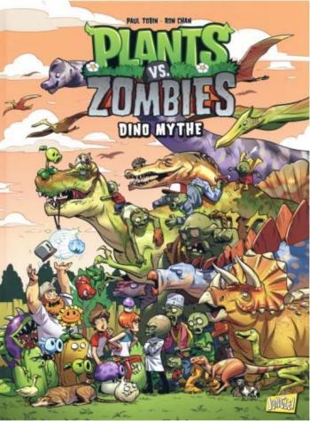 Couverture de l'album Plants vs. Zombies - 12. Dino mythe