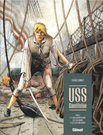 Couverture de l'album USS Constitution - 2. Il y a deux justices à bord, celle des gradés et celle des sans grade