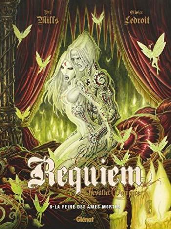 Couverture de l'album Requiem - Chevalier vampire - 8. La reine des âmes mortes