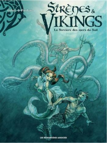 Couverture de l'album Sirènes et vikings - 3. La Sorcière des mers du Sud