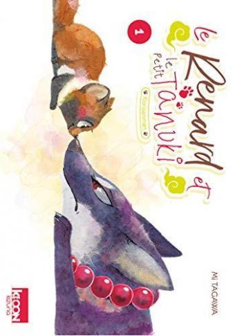 Couverture de l'album Le Renard et le Petit Tanuki - 1. Tome 1