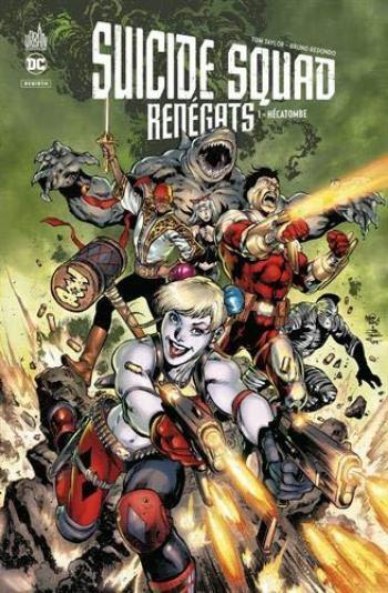 Couverture de l'album Suicide Squad - Renégats - 1. Tome 1