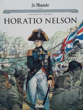 Couverture de l'album Les Grands Personnages de l'Histoire en BD - 47. Horatio Nelson