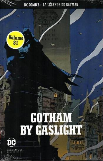 Couverture de l'album DC Comics - La légende de Batman - 81. Gotham by gaslight