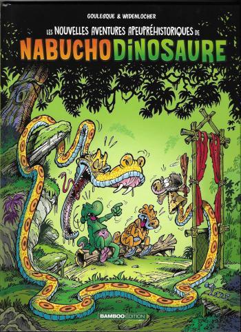 Couverture de l'album Les Nouvelles Aventures Apeupréhistoriques de Nabuchodinosaure - 4. Tome 4