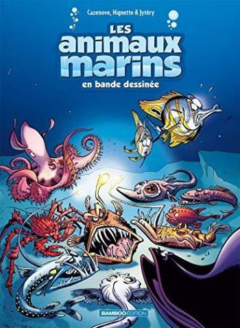 Couverture de l'album Les Animaux marins en bande dessinée - 6. Tome 6