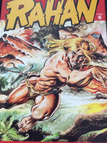 Couverture de l'album Rahan (Hachette) - 6. La Falaise du sacrifice