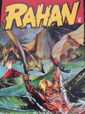 Couverture de l'album Rahan (Hachette) - 8. les longues crinières